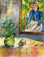Homage to Vincent Still Life with Peasant Girl