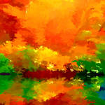 """Abstract Autumn Display"" by waynelogan"