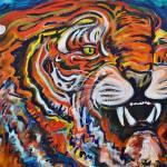 """Tiger"" by AmyElizabethArt"