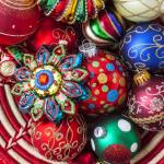 """Basketful of Christmas ornaments"" by photogarry"