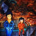 """Mother & Child"" by originalartbyroxie"