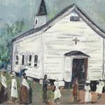 """Chataignier Church"" by lmeaux2"
