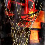 """""""Ball on Fire"""" by mhoelzer2988"""