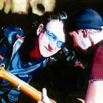 """Bono/Edge"" by KellyEddington"