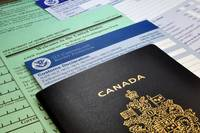 Arriving in the USA: Canadian Passport and USA Cus