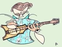 The Tahitian Ukulele Player