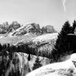 """Admiring dolomites from the cottage"" by FrancescoMalpensi"