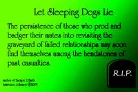 Sleeping Dogs Quote