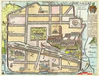 1650 Fuller Map of Jerusalem Israel Palestine  Hol