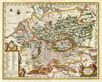 1657 Jansson Map of Germany Germania Geographicus
