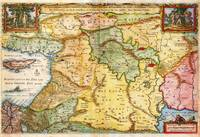 1657 Visscher Map of the Holy Land or the Earthly