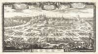 1697 Pufendorf View of Krakow Cracow Poland