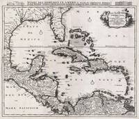 1696 Danckerts Map of Florida the West Indies