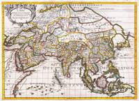 1687 Sanson Rossi Map of Asia Geographicus
