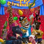 """animal birthday party"" by martindavey"