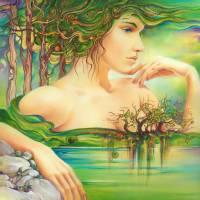 The Emerald Lake Art Prints & Posters by Anna Ewa Miarczyńska