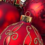 """Red fancy Christmas ornament"" by photogarry"