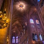 """Notre Dame Candle Frame"" by Shutterscript"