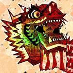"""Dragon"" by AndySchwartzArt"