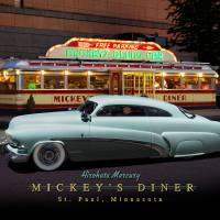 Mickey's Diner/Hirohata Mercury Art Prints & Posters by Ron Long