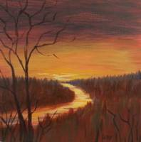 Sauble River Sunset II