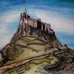 """Lindisfarne Castle"" by serendipityofalnwick"