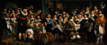 Bartholomeus van der Helst Banquet of the Amsterd
