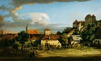 Bernardo Bellotto  Pirna  The Obertor from the