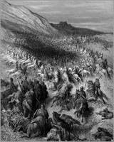crusaders surrounded by saladin s army 1877