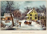 curriver ives American homestead winter