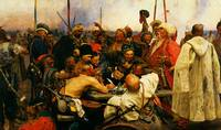 ilya repin 3 reply of the zaporozhian cossacks
