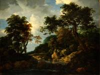 Jacob van Ruisdael The Forest Stream