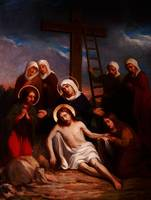 Lamentation of Christ paint by the Belgian artist
