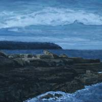 view from the Aran island ferry Art Prints & Posters by Pat Kelly