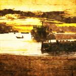 """Stone Town Sunset"" by amynnasser"