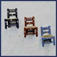Children's Little Chairs on Display