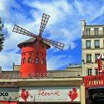 """Le Moulin Rouge"" by bekahpaige"