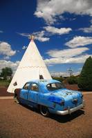 Route 66 Wigwam Motel and Classic Car