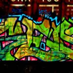 """Train Grafitti"" by bavosiphotoart"