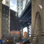 """The Cleanup/Manhattan Bridge Arch at Adams"" by JoshuaDerr"