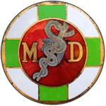 """Physician Antique MD Insignia"" by WilshireImages"