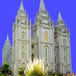 """7 LDS SLC TEMPLE"" by Triflour"