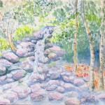 """race brook falls"" by craigcalabresewatercolors"