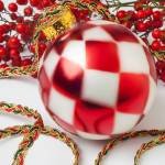 """Pretty Christmas Ornament"" by photogarry"