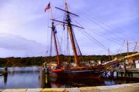 The Amistad on the Mystic River