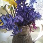 """""""Hyacinth Daffodil Still Life"""" by Leyland"""