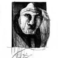 Portrait of an old man Art Prints & Posters by Alvaro de Mendonca