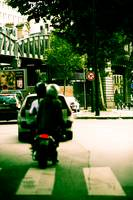 Motorcycle Paris