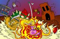 Conflagration in the Mushroom Kingdom