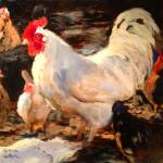 """Radient Rooster!"" by normawilsonfineart"